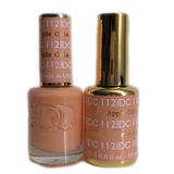 DC Nail Lacquer And Gel Polish (New DND), DC112, Apple Cider, 0.6oz
