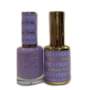 DC Nail Lacquer And Gel Polish (New DND), DC119, Frosty Taro, 0.6oz