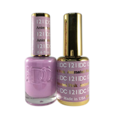 DC Nail Lacquer And Gel Polish (New DND), DC121, Animated Pink, 0.6oz