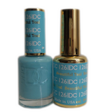 DC Nail Lacquer And Gel Polish (New DND), DC126, Beautiful Teal, 0.6oz