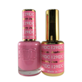 DC Nail Lacquer And Gel Polish (New DND), DC129, Jazzberry Jam, 0.6oz
