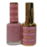 DC Nail Lacquer And Gel Polish (New DND), DC130, Pink Grapefruit, 0.6oz