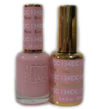DC Nail Lacquer And Gel Polish (New DND), DC134, Easy Pink, 0.6oz