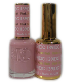 DC Nail Lacquer And Gel Polish (New DND), DC139, Pink Salt, 0.6oz