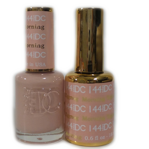 DC Nail Lacquer And Gel Polish (New DND), DC144, Morning Eggnog, 0.6oz