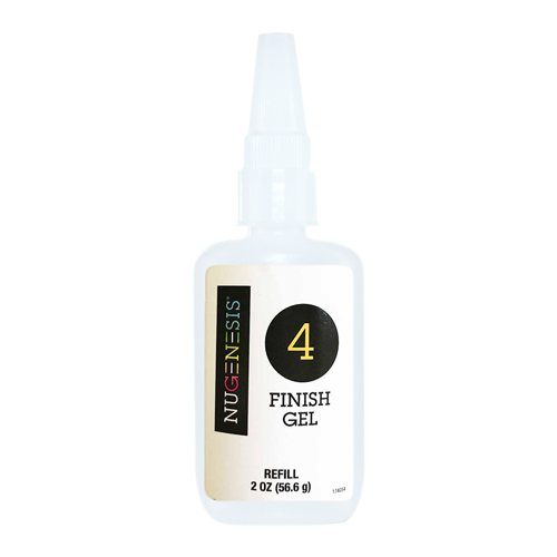 NuGenesis DIPPING GEL FINISH Refill #4, 2oz