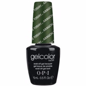 OPI GelColor, E48, Here Today... Arragon Tomorrow, 0.5oz