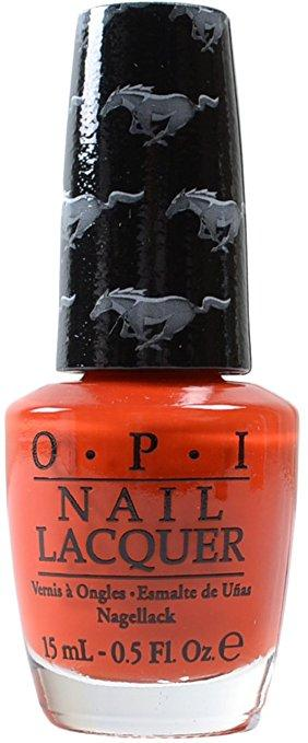 OPI Nail Lacquer, NL F68, Race Red