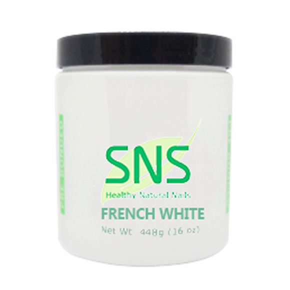SNS Dipping Powder, 02, French White, 16oz