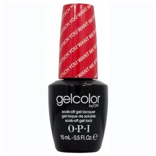 OPI GelColor, G15, Deutsch You Want Me Baby?, 0.5oz