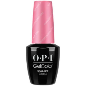 OPI GelColor, R72, Flip Flips & Crop Tops, 0.5oz