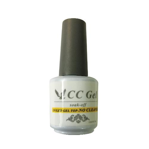 CnC, CC01 Gel Top Coat Non Cleanse, 0.5oz