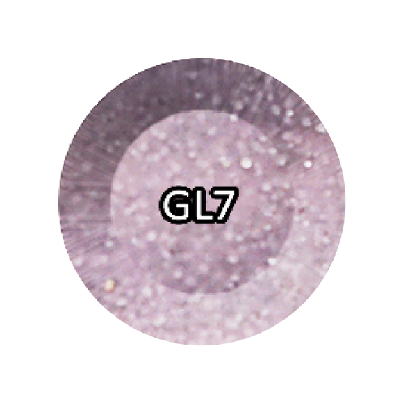 Chisel 2in1 Acrylic/Dipping Powder, Glitter Collection, 2oz, GL07