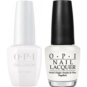OPI GelColor And Nail Lacquer, H22, Funny Bunny, 0.5oz