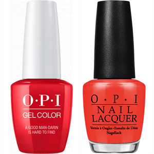 OPI GelColor And Nail Lacquer, H47, Good Mandrin Hrd Fd, 0.5oz