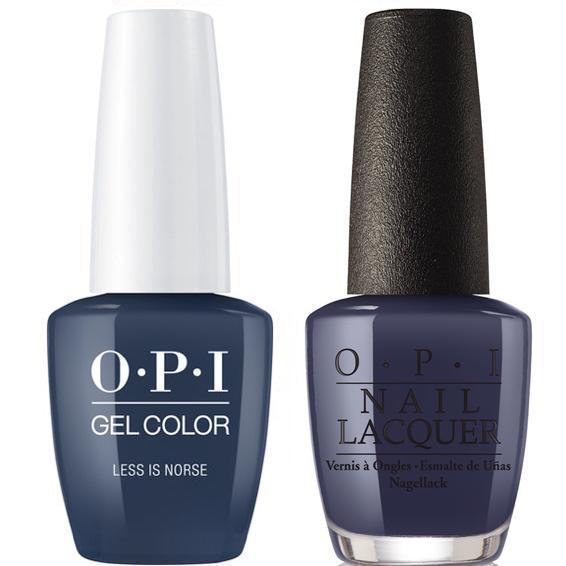 OPI GelColor And Nail Lacquer, I59, Less In Norse, 0.5oz