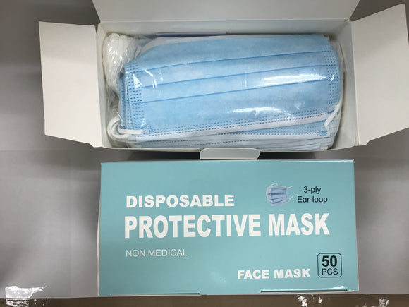 Disposable Face Mask (3 layers)