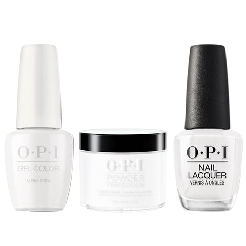OPI 3in1, L00, Alpine Snow