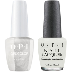OPI GelColor And Nail Lacquer, L03, Kyoto Pearl, 0.5oz