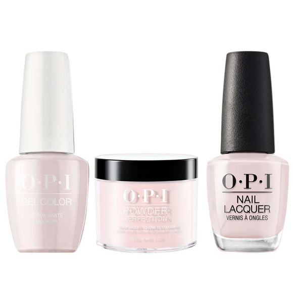 OPI 3in1, L16, Lisbon Wants Moor OPI