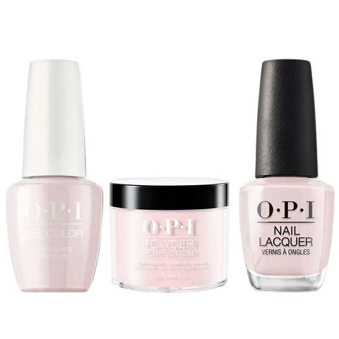 OPI 3in1, T69, Love Is In The Bare