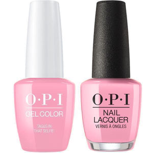 OPI GelColor And Nail Lacquer, Lisbon Collection, L18, Tagus in That Selfie, 0.5oz