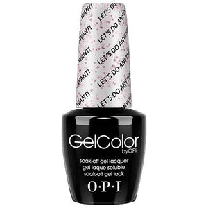OPI GelColor, M78, Let's Do Anything We Want!, 0.5oz