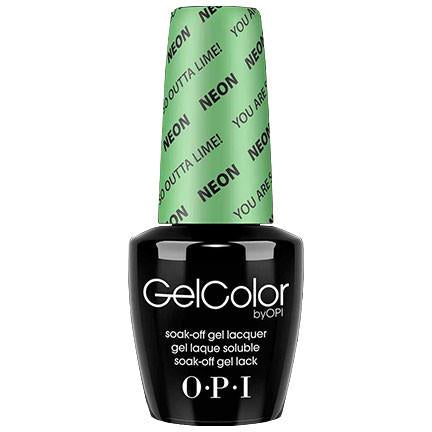 OPI GelColor, N34, You are So Outta Lime!, 0.5oz