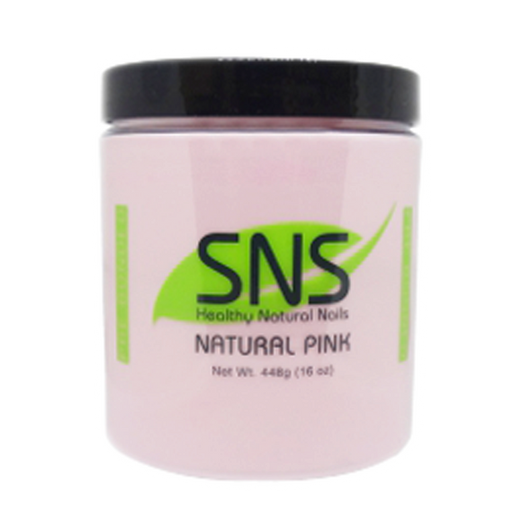 SNS Dipping Powder, 09, Natural Pink, 16oz