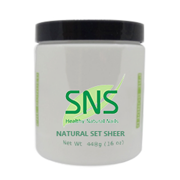 SNS Dipping Powder, 04, Natural Set Sheer, 16oz