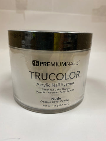 PremiumNails TRUCOLOR Nail Sculpting Powder | Nude 3.7oz.