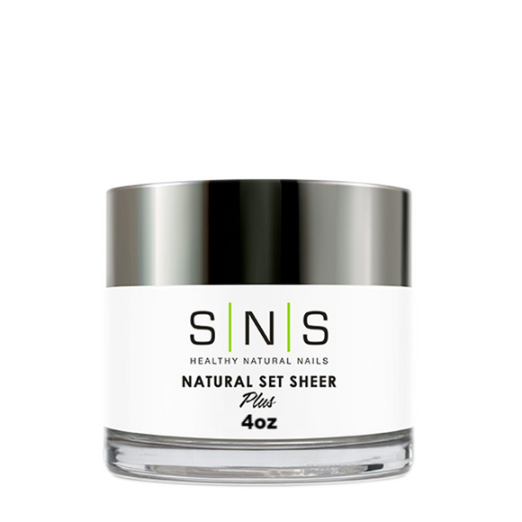 SNS Dipping Powder, 04, Natural Set Sheer, 4oz