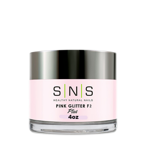 SNS Dipping Powder, 12, Pink Glitter, F2, 4oz