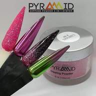 Pyramid Dipping Powder, 2oz, CHROME Collection | 39