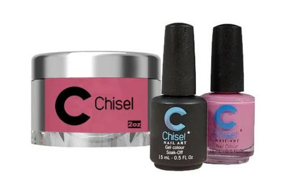 CHISEL 3in1 Duo + Dipping Powder (2oz) - SOLID 80