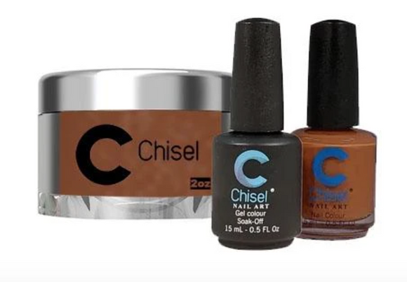 CHISEL 3in1 Duo + Dipping Powder (2oz) - SOLID 82