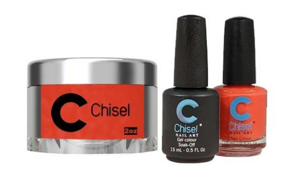 CHISEL 3in1 Duo + Dipping Powder (2oz) - SOLID 84