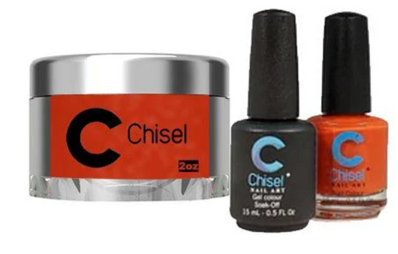 CHISEL 3in1 Duo + Dipping Powder (2oz) - SOLID 85