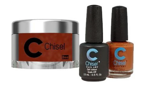 CHISEL 3in1 Duo + Dipping Powder (2oz) - SOLID 92