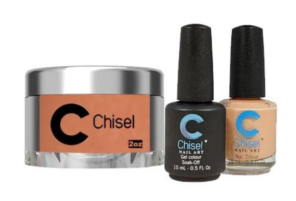 CHISEL 3in1 Duo + Dipping Powder (2oz) - SOLID 96