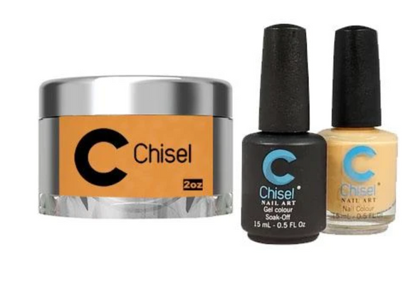 CHISEL 3in1 Duo + Dipping Powder (2oz) - SOLID 100