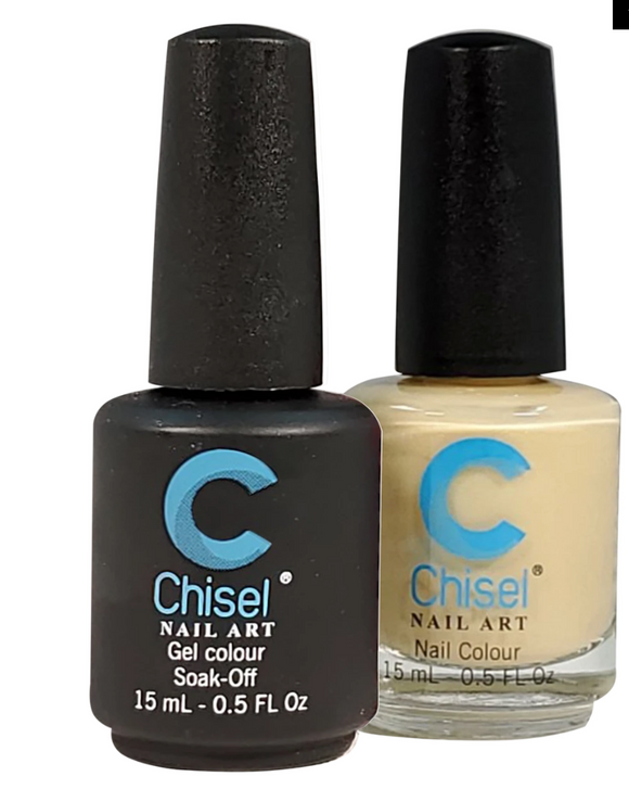 Chisel Matching Gel + Lacquer Duo - Solid 100