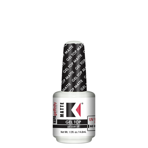 Kupa Gelfinity, Matte Top Coat, 0.5oz