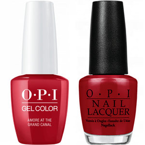 OPI GelColor And Nail Lacquer, V29, Amore at the Grand Canal, 0.5oz
