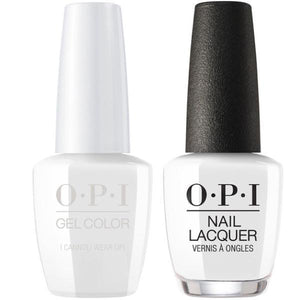 OPI GelColor And Nail Lacquer, V32, I Cannoli Wear OPI, 0.5oz
