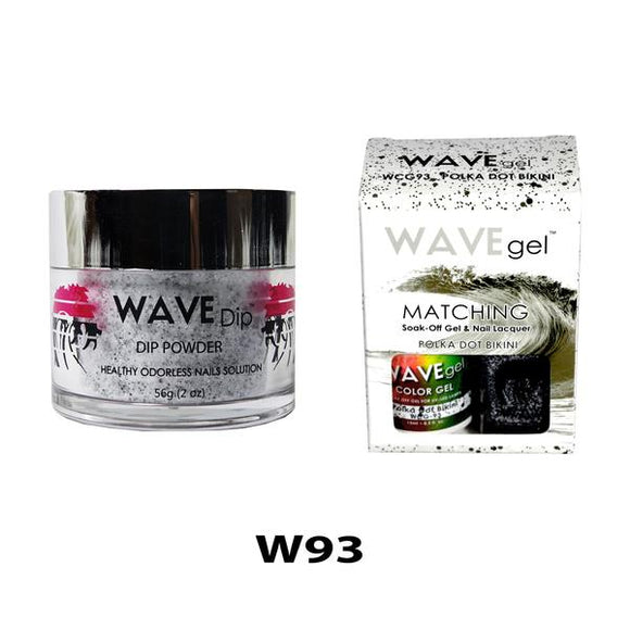 WAVEGEL 3IN1- W93 POLKA DOT BIKINI