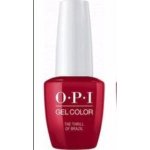 OPI GelColor, A16, The Thrill of Brazil, 0.5oz