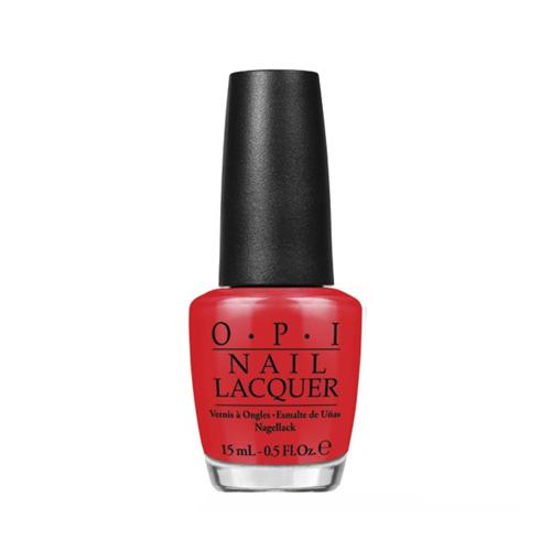 OPI Nail Lacquer, NL A74, Brights 2015 Collection, I Stop For Red