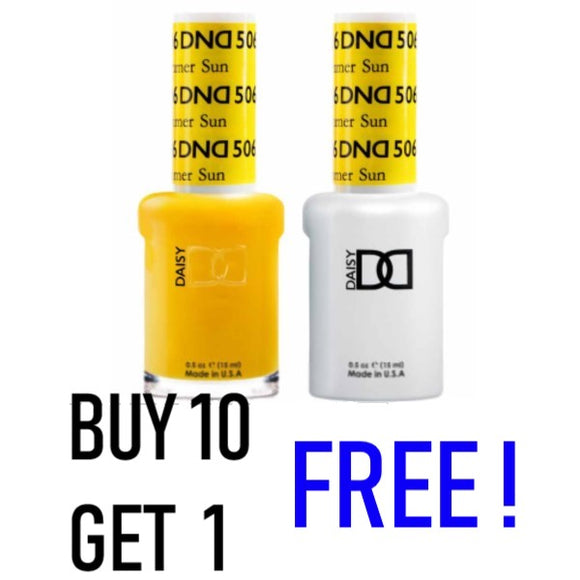 DND Duo Gel & Lacquer Buy 10 Get 1 Free