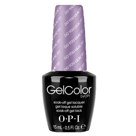 OPI GelColor, B29, Do You Lilac It?, 0.5oz